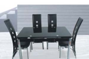Trend extending Glass Table and 4 Chairs £349
