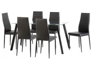 Abbey Table and 6 Chairs - £399