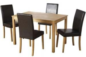 Economy PU Table and 4 Chairs - £269