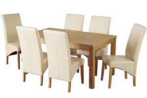 Dining Table and 6 Chairs - £429