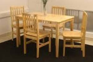 Malay Table and 4 Chairs - £220
