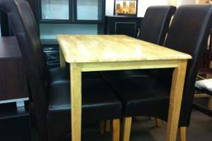 Malay Pine Dining – made of natural wood - £299
