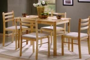 Dining Table and 4 Chairs: £199 - Dining Table and 6 Chairs: £289