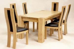 Dining Table and 6 Chairs: £999